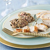 Capon from Janzé with stuffing