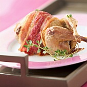 Roast quail (topic: Provence)