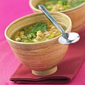 chickpea soup (topic: Provence)