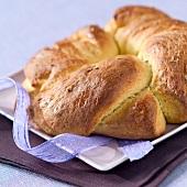 Tortillade brioche bread