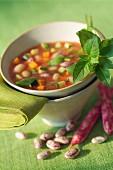 pistou soup (topic: Provence)