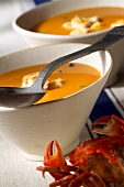 Crab soup (topic: Provence)