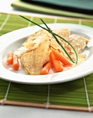 sole with almond sauce