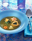 Pasta and vegetable soup