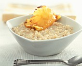caramelized coconut and pineapple rice