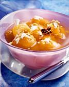 Apricot mint soup