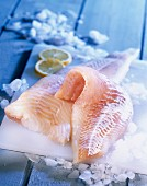 Fillets of cod