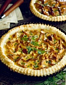 Quiche mit Pfifferlingen