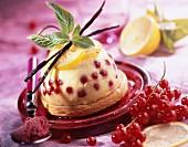 shortbread and lemon cream dessert