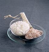 Red rice and long grain rice