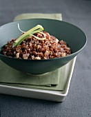 Red kidney bean risotto