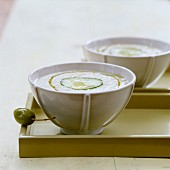 Olive and anchovy soup