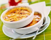 Exotic fruit Creme brulée