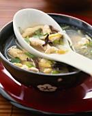 Pekinese chicken soup