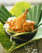 West Indian coconut chicken