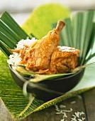 West Indian coconut chicken