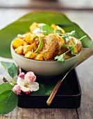Pork colombo with mango