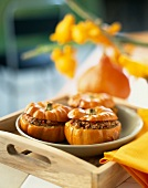 Mini stuffed pumpkins