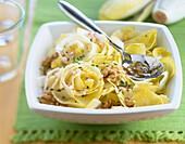 Chicory and walnut salad