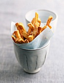 Sweet potato fries (topic: Japanese cuisine)