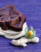 Chocolate and ginger cake