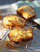 Apple and almond brioche