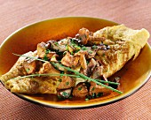 Omelette à la perigourdine