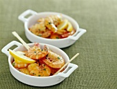 gambas with garlic