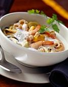 Seafood and shellfish soup