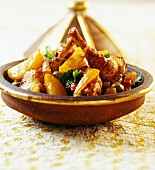Chicken tajine