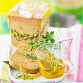 foie gras with citrus sauce