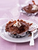 Chocolate mousse tartlet