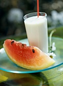 watermelon milk