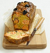 Salmon and olive loaf