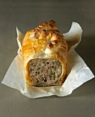 meat pate in pastry (topic: terrines)