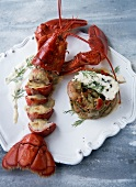 Lobster and roquefort