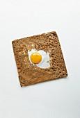 Breton buckwheat pancake with egg