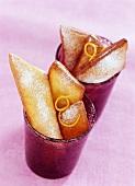 Oreillettes (Schmalzgebäck aus der Provence, Frankreich)