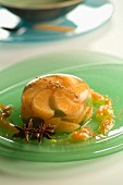 clementine jelly with mint and spices