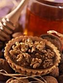 walnut and honey tartlet
