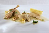Partridge with whisky