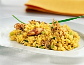 Rice with calamaries