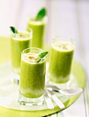 chilled creamed pea soup