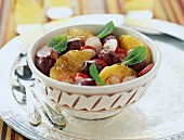 moroccan salad with radishes