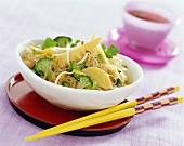 Wok-tossed noodles