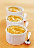 Carrot soufflé (topic :light diners)
