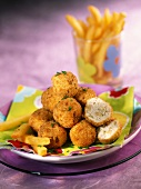 turkey and olive croquettes