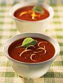 tomato and pepper gaspacho