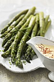 Asparagus and mousseline sauce