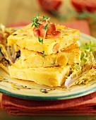 polenta with chickpeas